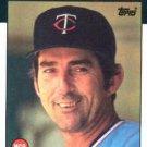 1986 Topps #381 Ray Miller Minnesota Twins