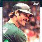 1986 Topps #410 Dave Kingman Oakland A's
