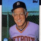 1986 Topps #411 Sparky Anderson Detroit Tigers