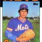 1986 Topps #465 Jesse Orosco New York Mets