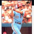 1986 Topps #466 Tom Foley Philadelphia Phillies