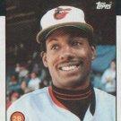 1986 Topps #508 Alan Wiggins Baltimore Orioles