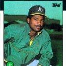 1986 Topps #536 Jose Rijo Oakland A's