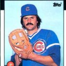 1986 Topps #538 Dennis Eckersley Chicago Cubs