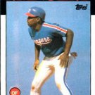 1986 Topps #559 Tommy Dunbar Texas Rangers