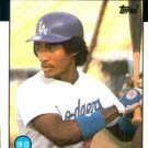 1986 Topps #602 Mariano Duncan Los Angeles Dodgers