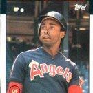 1986 Topps #604 Gary Pettis California Angels