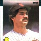 1986 Topps #608 Bruce Bochy San Diego Padres
