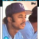 1986 Topps #617 Lonnie Smith Kansas City Royals
