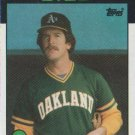1986 Topps #693 Tom Tellmann Oakland A's