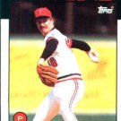 1986 Topps #695 Mike Smithson Minnesota Twins