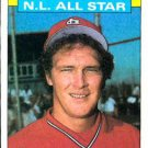 1986 Topps #702 Tom Herr St. Louis Cardinals All Star