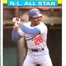 1986 Topps #706 Pedro Guerrero Los Angeles Dodgers All Star