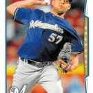2014 Topps Update #US-31 Francisco Rodriguez Milwaukee Brewers