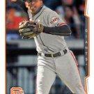 2014 Topps Update #US-82 Joaquin Arias San Francisco Giants