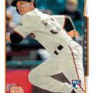 2014 Topps Update #US-105 Ehire Adrianza San Francisco Giants RC