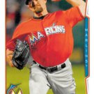 2014 Topps Update #US-119 Mike Dunn Miami Marlins