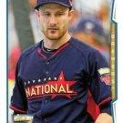 2014 Topps Update #US-255 Jonathan Lucroy Milwaukee Brewers All Star