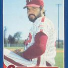 1986 Fleer Update Philadelphia Phillies Team Set
