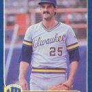 1986 Fleer Update #U-26 Mark Clear Milwaukee Brewers
