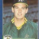 1986 Fleer Update #U-77 Bill Mooneyham Oakland A's