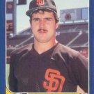 1986 Fleer Update #U-124 Gene Walter San Diego Padres