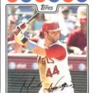 2008 Topps #73 Mike Napoli Los Angeles Angels