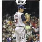 2008 Topps #317 Cliff Lee Cleveland Indians