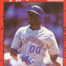 1990 Donruss #93 Jeffery Leonard Seattle Mariners