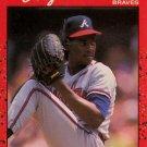 1990 Donruss #405 Sergio Valdez Atlanta Braves