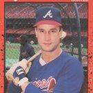 1990 Donruss #458 John Russell Atlanta Braves