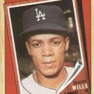 1987 Topps #315 Maury Wills Los Angeles Dodgers Turn Back the Clock