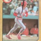1987 Topps #317 Clint Hurdle St. Louis Cardinals