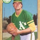 1987 Topps #391 Jay Howell Oakland A's