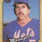 1987 Topps #543 Dave Johnson New York Mets