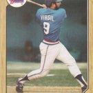 1987 Topps #571 Ozzie Virgil Atlanta Braves