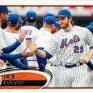 2012 Topps #24 Ike Davis New York Mets