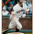 2012 Topps #141 Brandon Belt San Francisco Giants