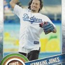 2015 Topps #FP-08 Jermaine Jones Los Angeles Dodgers First Pitch