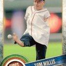 2015 Topps #FP-09 Tom Willis Kansas City Royals First Pitch