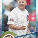 2015 Topps #FP-10 Graham Elliot Chicago Cubs First Pitch
