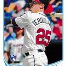 2013 Topps Update #US-45 Joey Terdoslavich Atlanta Braves RC