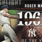 2015 Topps #H-12 Roger Maris New York Yankees Highlight of the Year 1961