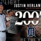 2015 Topps #H-29 Justin Verlander Detroit Tigers Highlights of the Year 2007