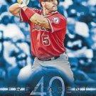 2015 Topps #F40-1 Albert Pujols Los Angeles Angels Free Agent 40