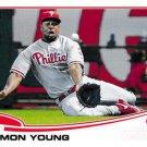 2013 Topps Update #US-242 Delmon Young Philadelphia Phillies