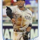2013 Topps #462 Eduardo Nunez New York Yankees