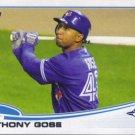 2013 Topps #468 Anthony Gose Toronto Blue Jays