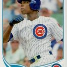 2013 Topps #567 Alfonso Soriano Chicago Cubs