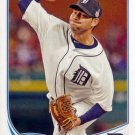 2013 Topps #602 Anibal Sanchez Detroit Tigers